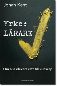Omslag boken Yrke: lärare av Johan Kant