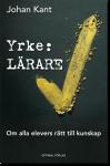 Omslag boken Yrke: lärare av Johan Kant